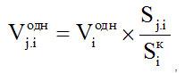 Формула № 17 - расчет объема тепловой энергии, предоставленной на общедомовые нужды, для комнаты, являющейся частью коммунальной квартиры